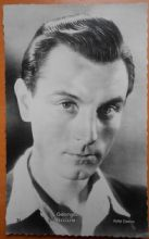 Georges Rollin, French Actor, Vintage Pathe Cinema Postcard no 31, c30-40